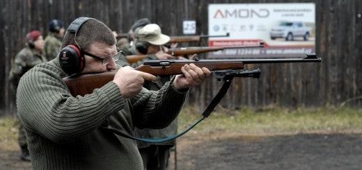 Malorážová puška a pistole - mířená střelba na přesnost
